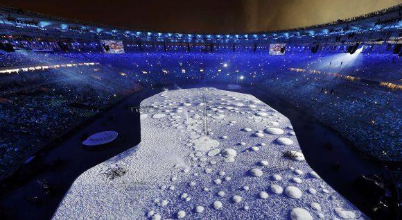 Ceremonia inaugural de los Juegos Olímpicos de Río 2016. Foto: Reuters