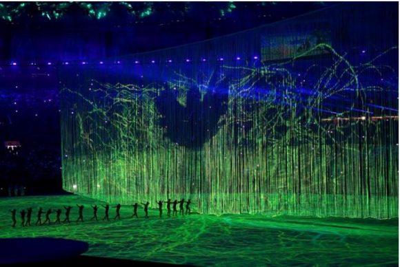Ceremonia inaugural de los Juegos Olímpicos de Río 2016. Foto: Ricardo López Hevia