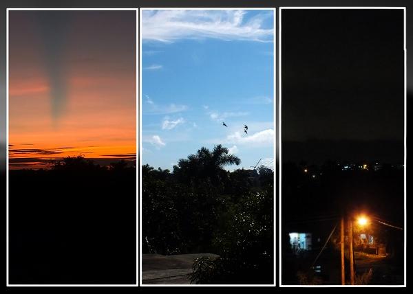 Desde horas bien tempranas del amanecer hasta la llegada del anochecer transcurren momentos que marcan el transcurso de la jornada diaria. La naturaleza nos obsequia estos maravillosos instantes que nos deleitan visualmente. Foto Abel Rojas