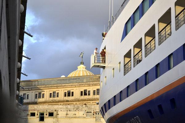 En Cuba el programa académico internacional Semestre en el Mar. Foto Abel Rojas