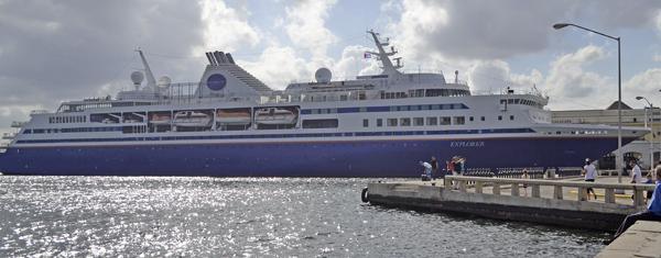Crucero M.V.Explorer del programa Semestre en el Mar. Foto Abel Rojas