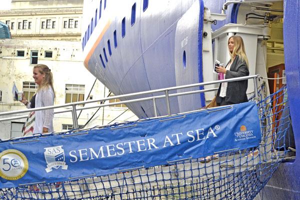 En esta oportunidad, la travesía de los más de 700 tripulantes comenzó en Londres. Foto Abel Rojas