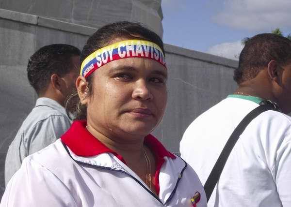 Tributo póstumo en La Habana para el Presidente de Venezuela, Hugo Chávez. Foto Abel Rojas