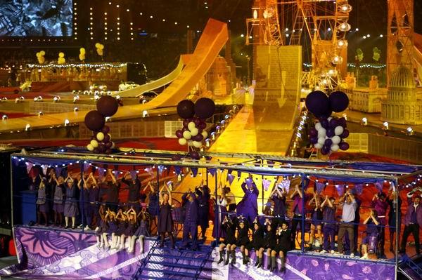 Ceremonia de clausura de los XXX Juegos Olímpicos Londres 2012, 12 de agosto de 2012. Fotos: New York Times.