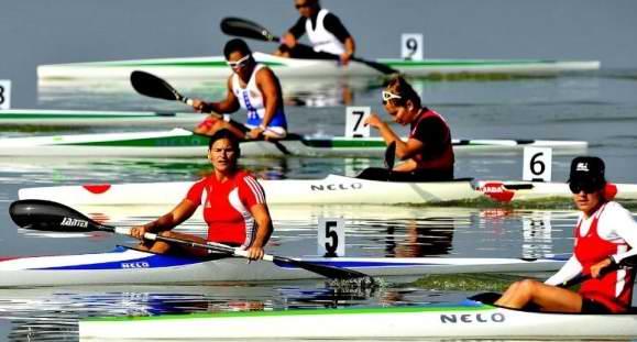 La cubana Darisleydis Amador entró hoy cuarta en la final B del kayac monoplaza (K-1) a 200 metros, y se ubicó en la duodécima posición general de esa modalidad en los XXX Juegos Olímpicos. Foto Cubahora