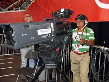 El Puma, camarógrafo holguinero en Londres 2012