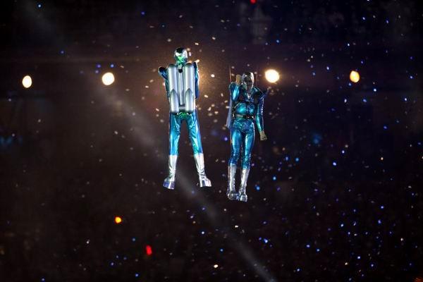 Ceremonia de inauguración de los XXX Juegos Olímpicos Londres 2012. Estadio Olímpico. Foto: The New York Times