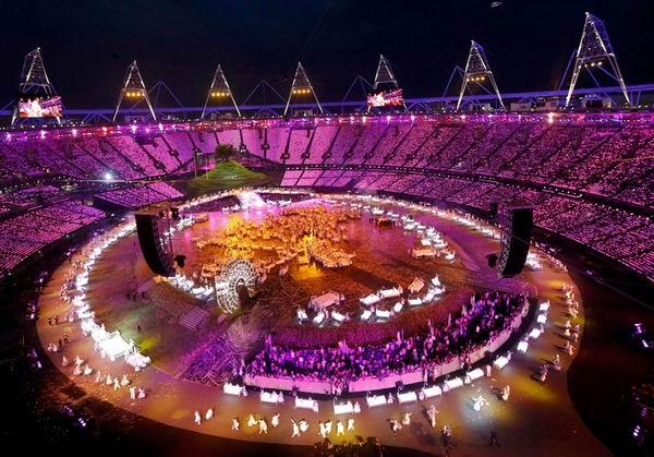 Ceremonia de inauguración de los XXX Juegos Olímpicos Londres 2012. Estadio Olímpico. Foto: Reuters
