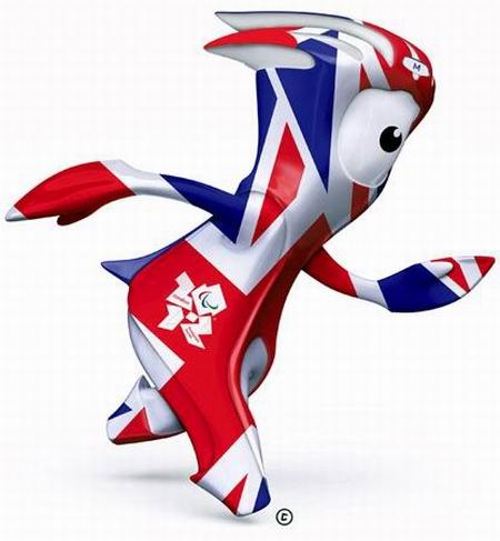Mandeville. Mascotas de los Juegos Olímpicos - Londres 2012