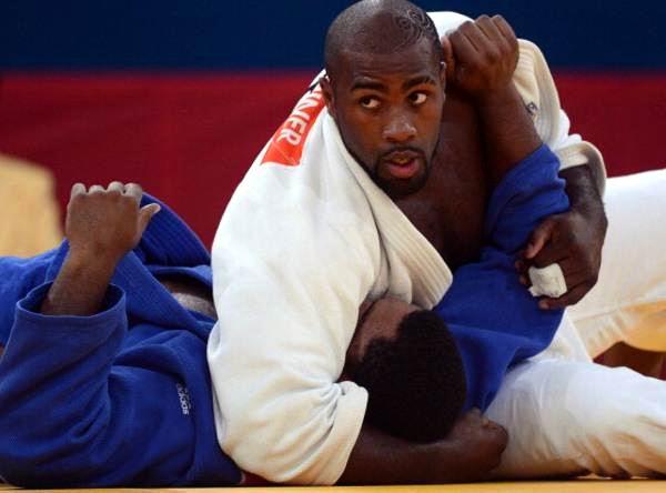 Pierde el boxeOscar Brayson (azul) en los +100 kg de judo en los XXX Juegos Olímpicos de Londres 2012. Foto: Emmanuel Dunand.
