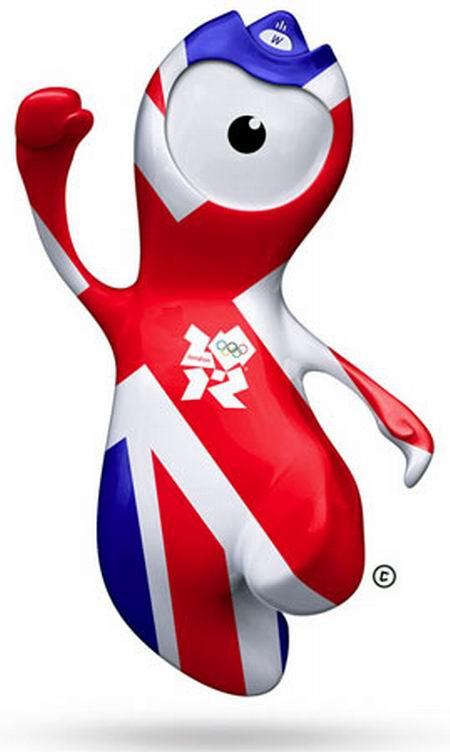 Wenlock. Mascotas de los Juegos Olímpicos - Londres 2012