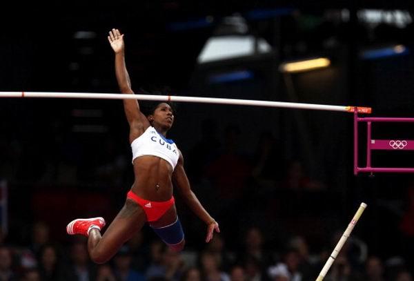Yarisley Silva obtuvo la séptima medalla para la delegación cubana, al vencer los 4,75 metros