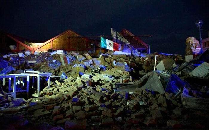 Un terremoto de magnitud 8,2 se ha registrado durante las últimas horas en la costa sur de México