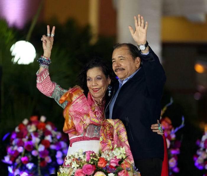 Investido Daniel Ortega como presidente de Nicaragua