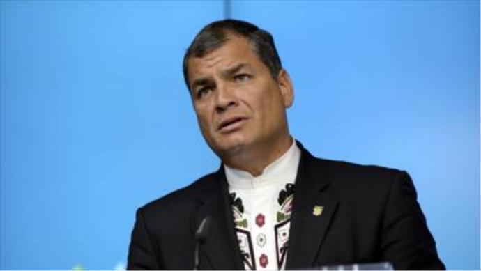 Advierte Correa sobre planes violentos de la derecha