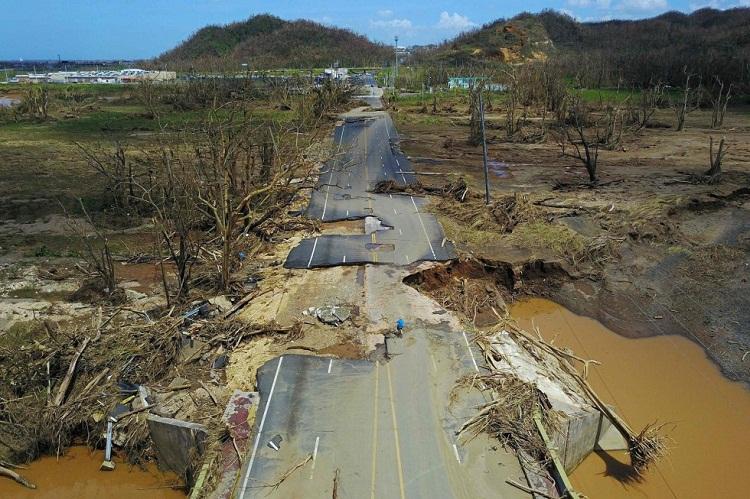 El huracán María destruye a Puerto Rico