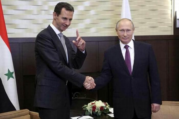 Allana Putin terreno para la paz en Siria