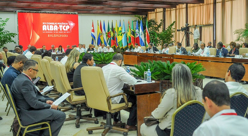 Political Council of ALBA-TCP will meet in Havana today