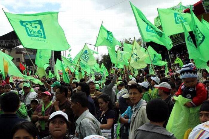 A early Vision on the Elections in Ecuador