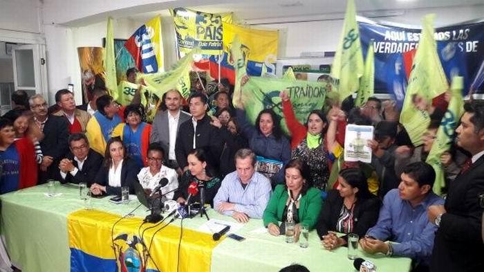 Retira Alianza País a Lenin Moreno como su presidente