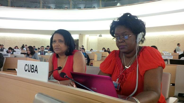 Reafirma Cuba en Ginebra compromiso con lucha contra el racismo