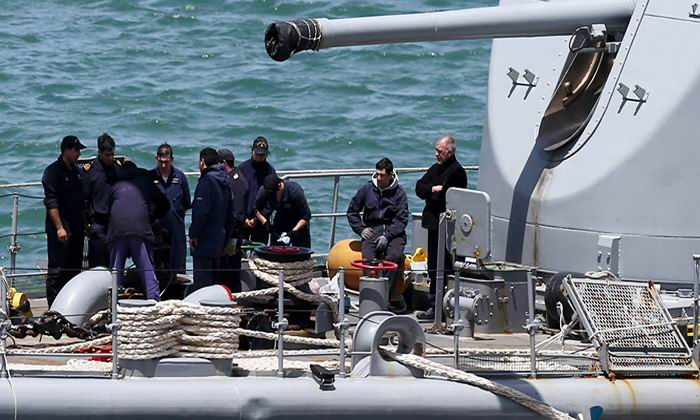 Nuevo punto de búsqueda del submarino argentino