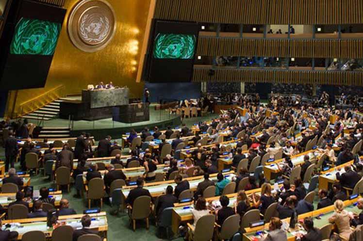 Abogan por cese del bloqueo contra Cuba en Naciones Unidas