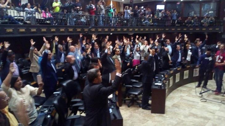 Designará parlamento opositor venezolano Tribunal Supremo de Justicia paralelo