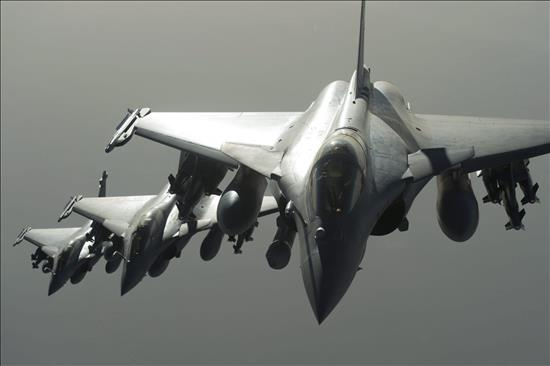 Contin�a campa�a a�rea rusa contra terroristas en Siria