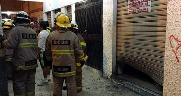 Explosión en sede de Alianza País