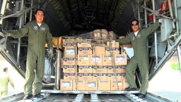 Env�a Ecuador ayuda humanitaria a Nicaragua por fuertes lluvias