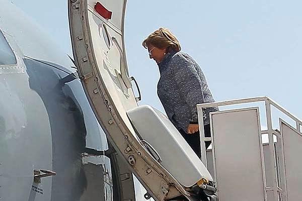 Presidenta de Chile inicia gira por Alemania y Espa�a