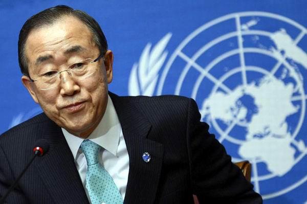 Ban Ki-Moon, Secretario General de la organización de las Naciones unidas