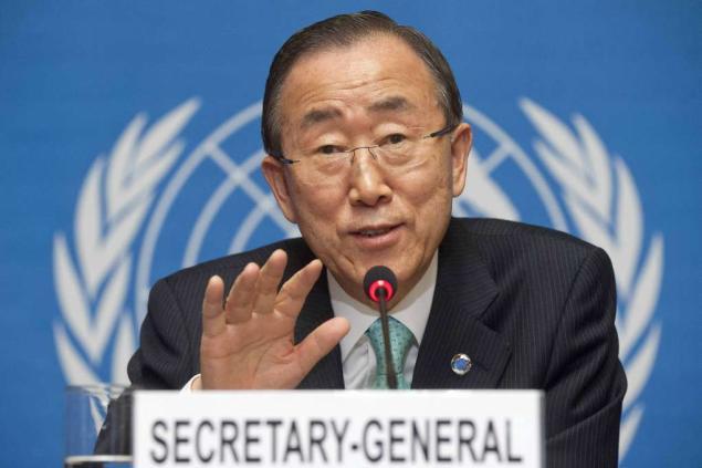 Despiden en ONU a secretario general saliente, Ban Ki-moon