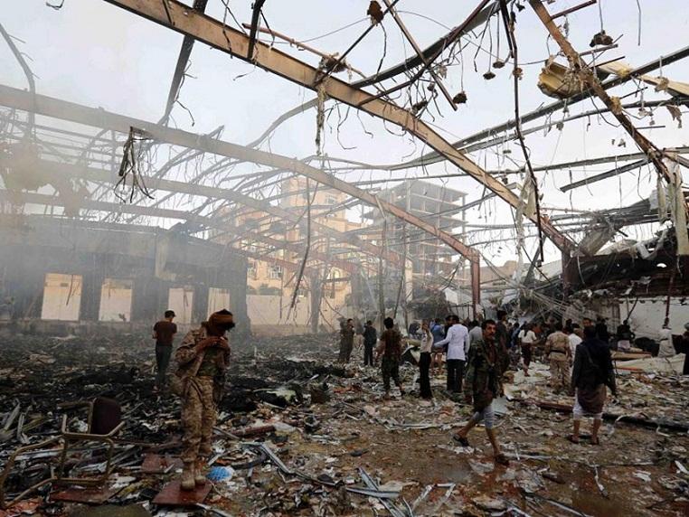 Bombing in Yemen