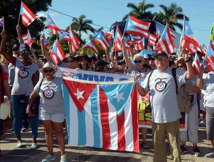 Llegará a Cuba Brigada Puertorriqueña de Solidaridad Juan Rius Rivera