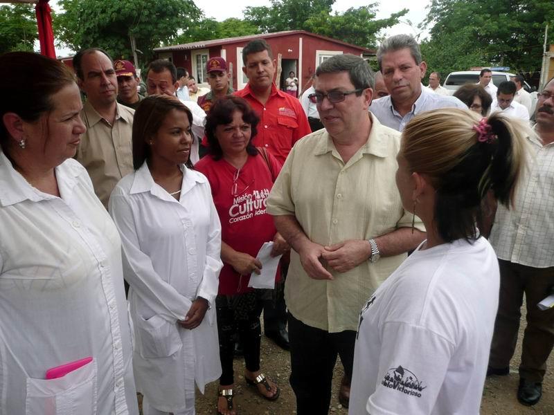 Resalta Bruno Rodr�guez defensa de los programas sociales en Venezuela