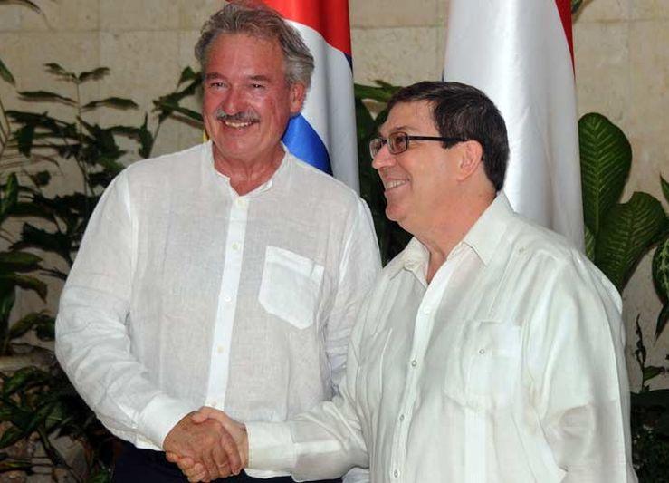 Recibió Raúl al Canciller del Gran Ducado de Luxemburgo
