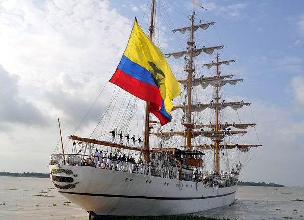 Realizará estancia en La Habana Buque Escuela Guayas de la armada ecuatoriana