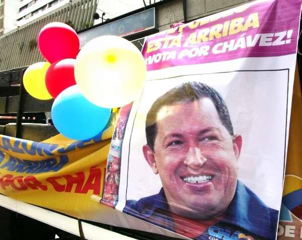 Campaña electoral de Hugo Chávez en Venezuela