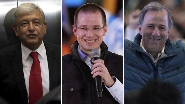 Se presentan en México principales candidatos presidenciales
