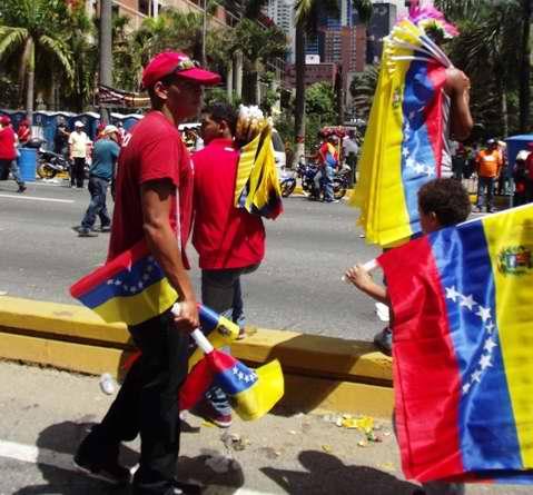 Apoyo a la candidatura de Hugo Chávez
