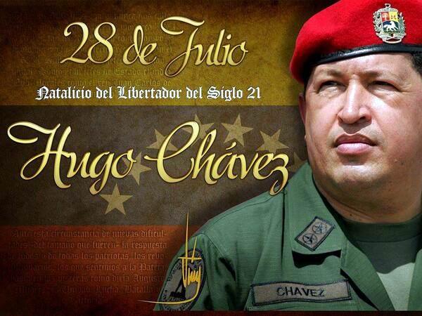 Homenaje cubano a Hugo Chávez en su cumpleaños