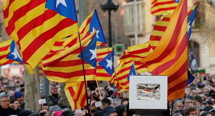 Sector más radical de independentismo catalán a desobediencia civil masiva