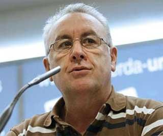 El coordinador federal de Izquierda Unida, Cayo Lara