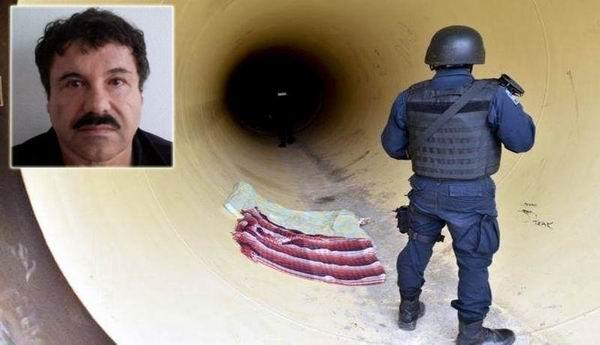 Guzmán escapó la noche del sábado del penal federal Altiplano, una prisión de alta seguridad, a través de un túnel de más de 1.500 metros de longitud que comunicaba su celda con una construcción en obras