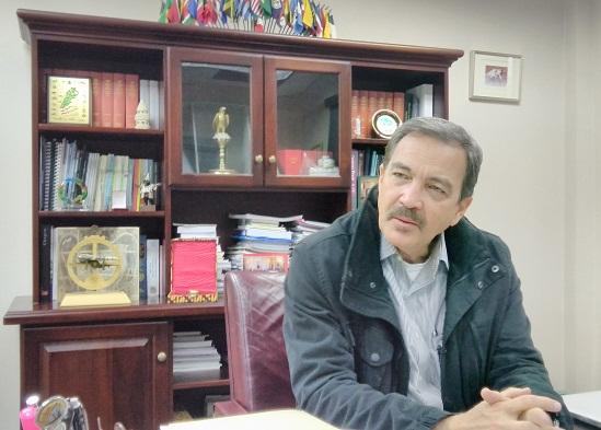 Charles Fernández, Ministro de Relaciones Exteriores, Comercio Internacional e Inmigración de Antigua y Barbuda