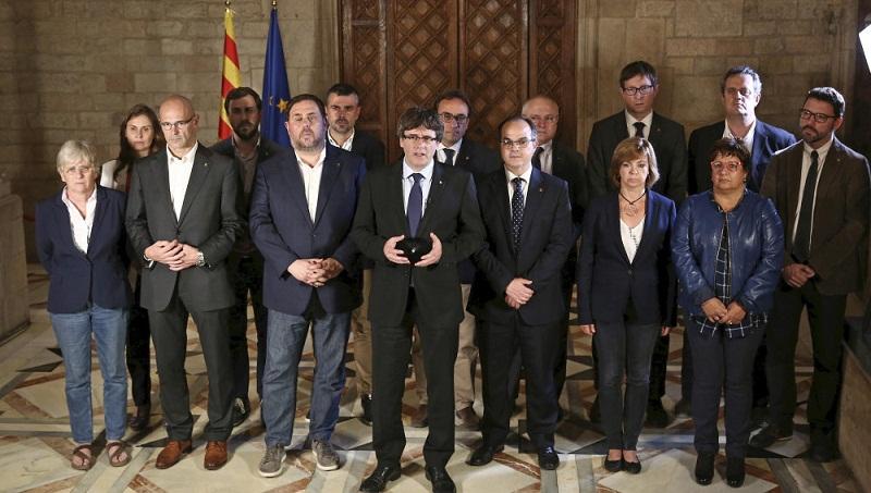 La Justicia suspende la sesión clave para la independencia de Cataluña