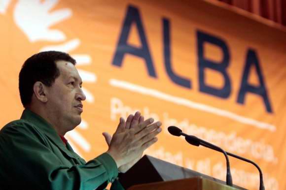 Hugo Chávez, fundador y creador del ALBA