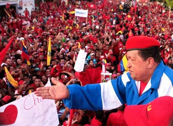 Chávez entra en recta final de su campaña presidencial del 7 de Octubre